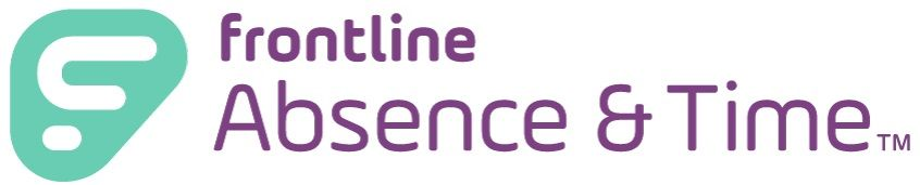 Frontline Absence Time Logo